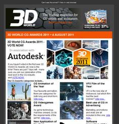3D Word Magazine Newsletter