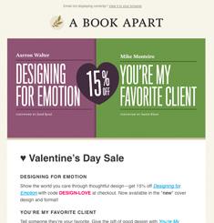 A Book Apart Newsletter