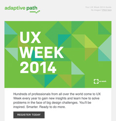 Adaptive Path Newsletter