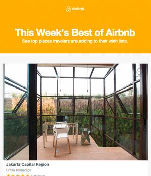 Airbnb Newsletter