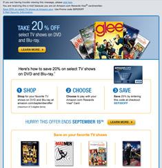 Amazon Newsletter