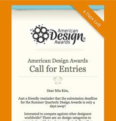 American Design Awards Newsletter