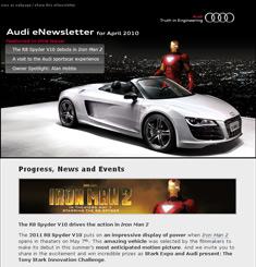Audi Newsletter