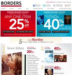 Borders Newsletter