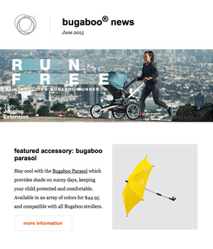 Bugaboo Newsletter