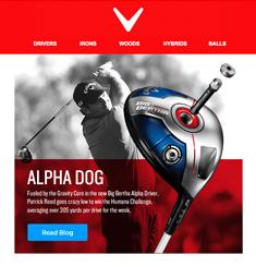 Callaway Golf Newsletter