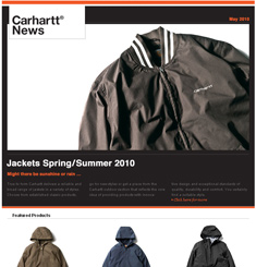Carhartt Street Wear Newsletter