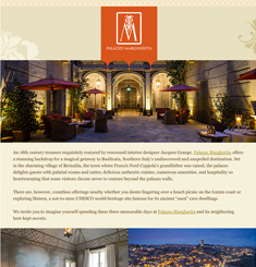 Coppola Resorts Newsletter