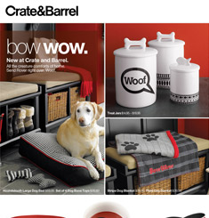 Crate & Barrel Newsletter