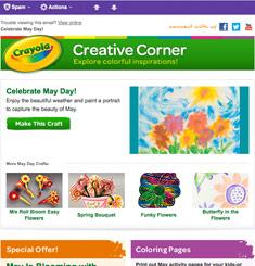 Crayola Newsletter