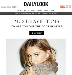 Daily Look Newsletter