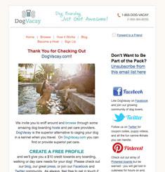 Dog Vacay Newsletter
