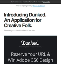 Dunked Newsletter