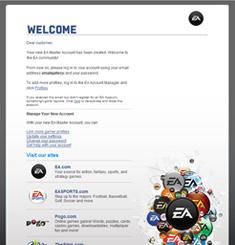 EA Electronic Art Newsletter