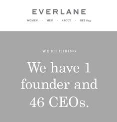 Everlane Newsletter