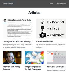 eWeb Design Newsletter