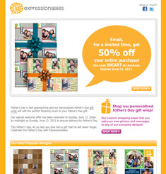 Expressionables Newsletter