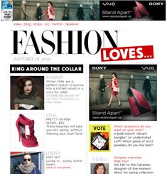Fashion Magazine Newsletter