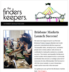 The Finders Keepers Newsletter