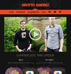 Grotto Madrid Newsletter
