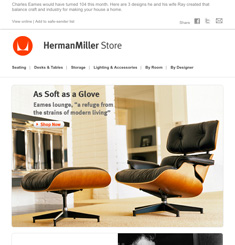 Herman Miller Newsletter
