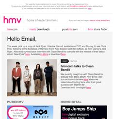 HMV Newsletter
