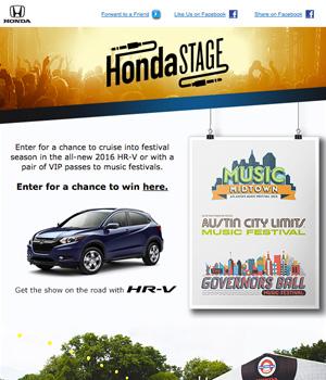 Honda Newsletter