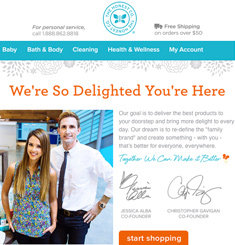 The Honest Company Newsletter