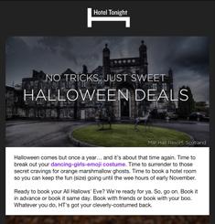 Hotel Tonight Newsletter