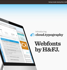Typography Newsletter