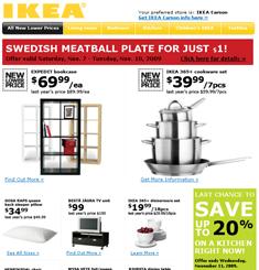 Ikea Newsletter