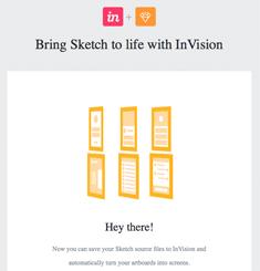 Invision App Newsletter
