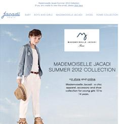 Jacadi Newsletter