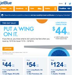 Jetblue Newsletter