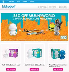 Kid Robot Newsletter