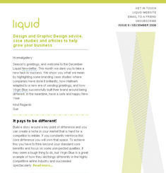 Liquid Creativity Newsletter