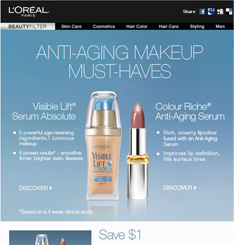 Loreal Newsletter