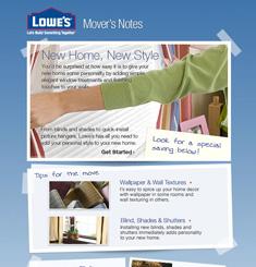 Lowe's Newsletter