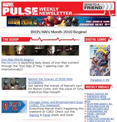 Marvel Newsletter