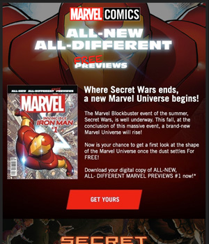 Marvel Newsletter
