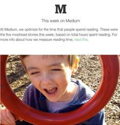 Medium Newsletter