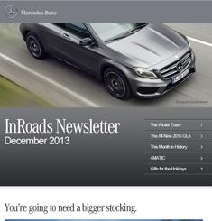 Mercedes Benz Newsletter