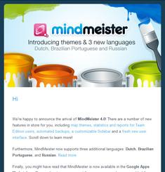 Mind Meister Newsletter