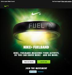 Nike Newsletter