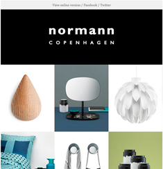 Normann Copenhagen Newsletter