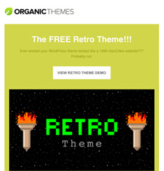 Organic Themes Newsletter