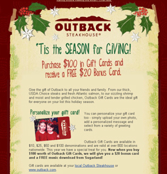 Outback Newsletter