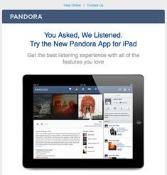Pandora Newsletter