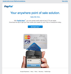 Paypal Newsletter