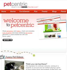 Pet Centric Newsletter